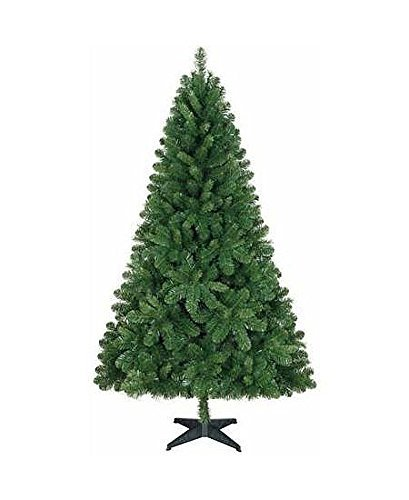 Holiday Time Unlit 6.5 Feet Jackson Spruce Green Artificial Christmas Tree (Tree only - Unlit, Undecorated) by Holiday Time