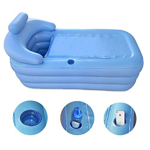 Amazon.com : MBJZ Inflatable pool inflatable single bath ...