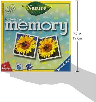 Ravensburger Spieleverlag GmbH Ravensburger 266333 Nature memory Kinderspielzeug