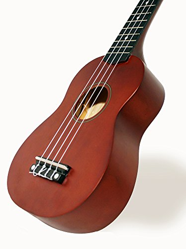 Martin Smith 312 Ukulele Starter Kit – Includes lessons, tuner, strap, spare strings and gig bag. Natura - Image 3