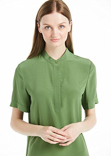 18 Oliv Kurz Damenmode Kleider Momme Seidenkleider Seide Damen Sommerkleider LilySilk a0Ovxq7