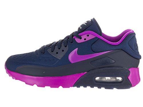 Nike 844600-400, Zapatillas de Deporte Mujer Azul (Midnight Navy / Hyper Violet-Blue Tint)