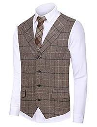Hanayome traje de caballero parte superior Design Casual Chaleco business para  hombre chaleco vs17 24d3b0d1da1