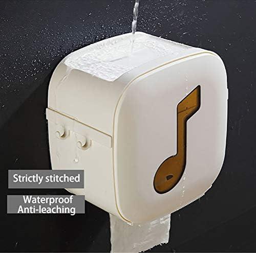 防水トイレットペーパーホルダー、壁掛け式二重層収納ボックス、ポータブルトイレットペーパーホルダー、ホームホテル用キッチンキッチンバスルーム