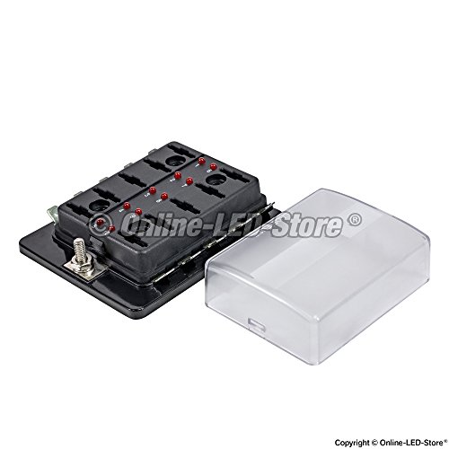 Ols way blade fuse box led indicator for blown