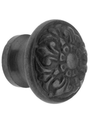 House of Antique Hardware R-08DE-157 Cast Iron Fleur-de-Lis Knob with 1 1/4