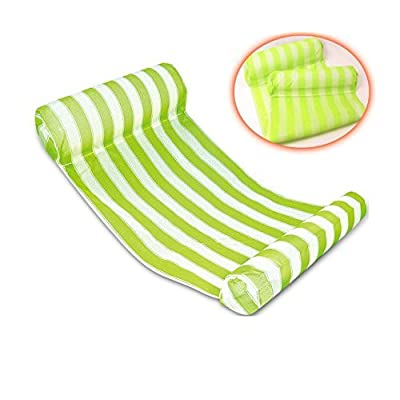 Extrafunn Swimming Pool Float Hammock-Green: Garden & Outdoor