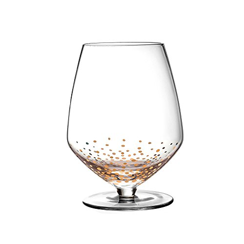Fitz and Floyd 229700-4PN Luster Wine Glasses, Gold