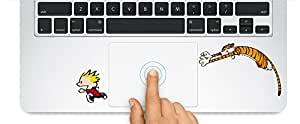 Calvin And Hobbes Macbook Laptop Trackpad Keyboard Sticker Decal