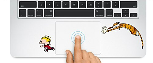 Calvin And Hobbes Macbook Laptop Trackpad Keyboard Sticker D