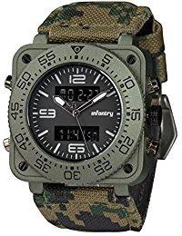 Infantry: Otro reloj con muy buena pinta para quien quiere mostrar un estilo sport-militarizado.