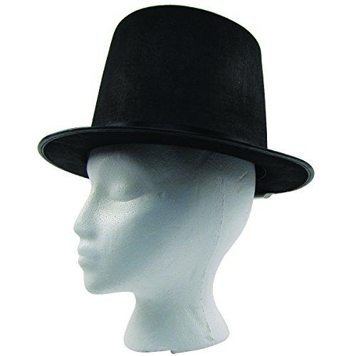Civil War Era Abe Lincoln Style Black Top Hat
