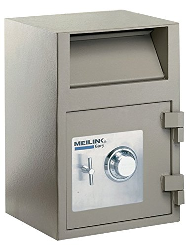 Image of Cabinet Safes Gary Front Loading Deposit Safe with Combination Lock, 14 x 21 x 14 Inches, Taupe (FIRFB2114RC)