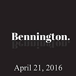 Bennington, Dave Hill, Amy Miller, Billy Connolly, April 21, 2016