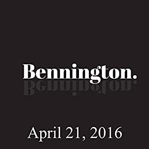 Bennington, Dave Hill, Amy Miller, Billy Connolly, April 21, 2016 Radio/TV Program