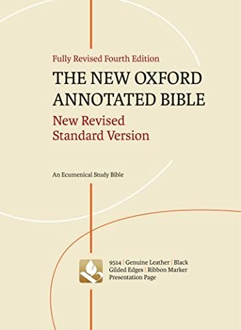 The New Oxford Annotated Bible: New Revised Standard Version (Oxford Annotated Bible Apocrypha)