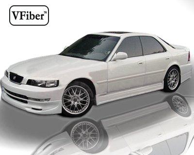 1996-1998 Acura TL 4dr Vfiber Urethane Body Kit K Speed Side (Vfiber Side Skirts)