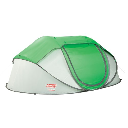 Coleman Company 4-Person Pop-Up Tent,Green/Grey