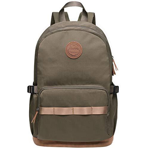 b9366e2636fc KAUKKO Stylish Oxford Fabric Backpack Travel Rucksack lightweight Hiking  Bag Satchel