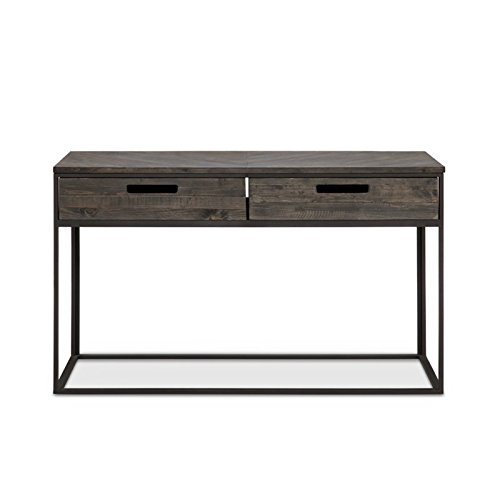 Magnussen T4034-73 T4034 Claremont Transitional Weathered Charcoal Rectangular Sofa Table