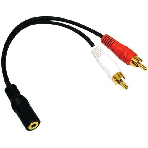 Headphone To Red White Audio Converter: Amazon.com