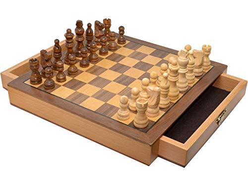 Vidal Regalos Juego ajedrez Madera Magnetico 25 cm