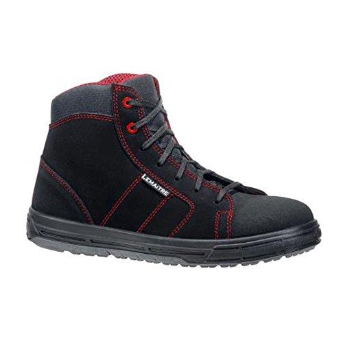 SRC Solar Lemaitre Sécurité Rouge S3 Montantes de Chaussures Noir xqwwIZzY