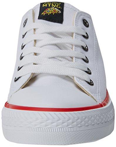 Basses Sneakers Cassé Blanc Homme Blanco Emi MTNG Canvas 6vwnxU5