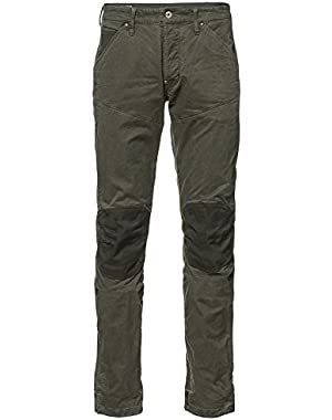 G-Star Mens 5620 3D Tapered Trainer Pattern Mix Colored Jeans in Dark Shamrock/Forest Night