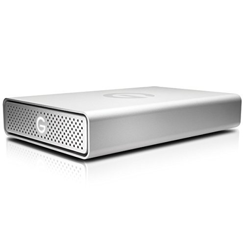 G-Technology G-DRIVE USB-C External Drive 4TB 0G05666 by G-Technology