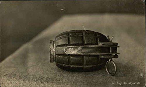 Hand Grenade - Engl. Handgranate Other Original Vintage Postcard from CardCow Vintage Postcards