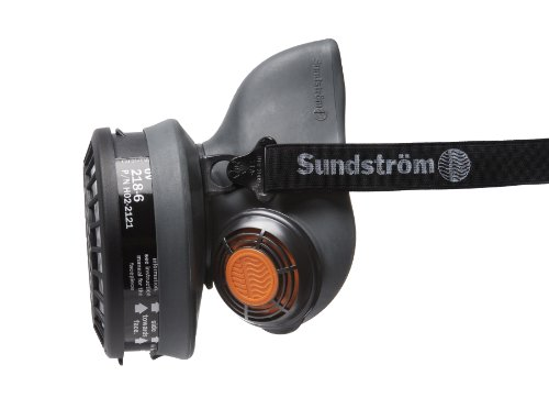 Sundstrom H01-2621 SR 90-3 M/L Half Mask Respirator, TPE