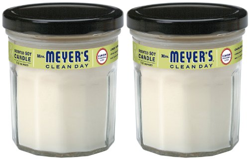 Mrs. Meyer's Clean Day Soy Candle - Lemon Verbana - 7.2 oz - 2 pk -