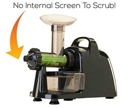 Slow Juicer Lexen : Healthy Juicer Electric (by Lexen) - 100% Cold-Press Masticating Electric Juicer by Healthy ...