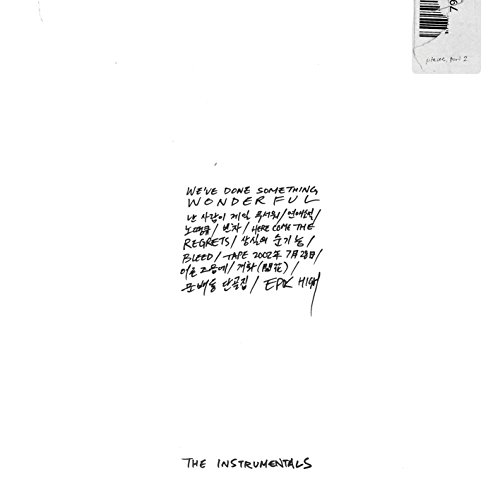 YG Entertainment EPIC HIGH OFFICIAL ALBUM [We've done something wonderful] THE INSTRUMENTALS CD+Booklet