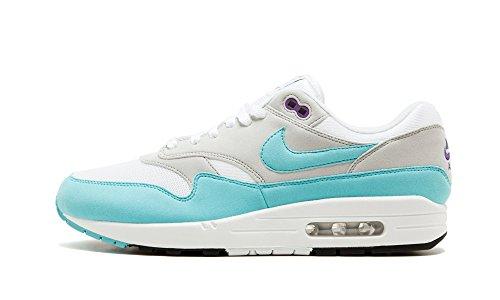 Nike Sneaker uomo White/Aqua-Neutral Grey Black Envío Bajo De Salida 2R8f6MANo