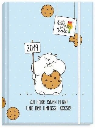 Katz & Tinte Taschenkalender 2019 Kalender – 1. Januar 2018 Grätz Verlag 3946861326 51603 Taschen-Kalender