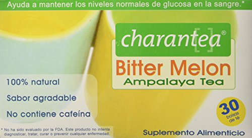 Charantea Ampalaya Bitter Melon Tea Bags, 30 Count