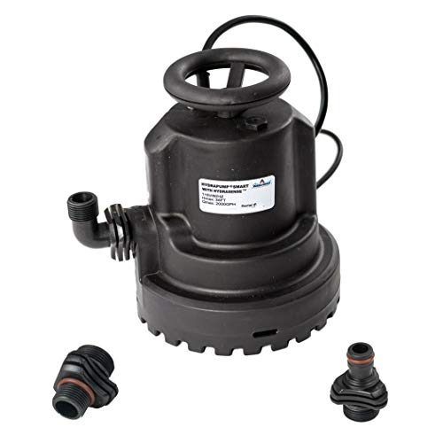 HydraPump Smart - Water Pump with HydraSense technology for automatic operation
