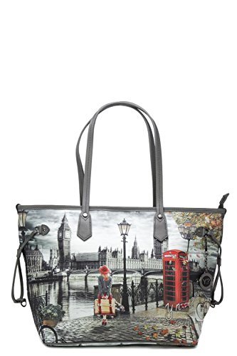 MEDIUM Y 319 K NOT BAG Londres FEMME SHOPPING SAC 41xwXr1qP