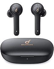 Soundcore Life P2 Oordopjes Draadloos, TWS Bluetooth hoofdtelefoon met cVc 8.0 geluidsisolatie voor kristalhelder klankprofiel, 40 uur batterijduur, IPX7 waterbeschermingsklasse, voor werk en onderweg
