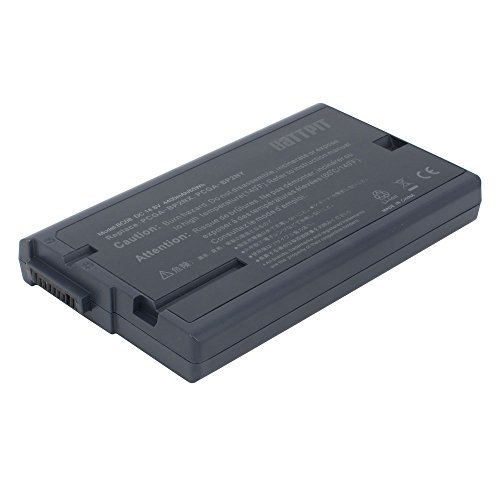 Battpit™ Laptop / Notebook Battery for Sony VAIO PCG-FRV VAIO PCG-FR870 VAIO PCG-FRV Series VAIO PCG-FR825P VAIO PCG-FR862 VAIO PCG-FR860 VAIO PCG-FR872 (4400 mAh / 65Wh)