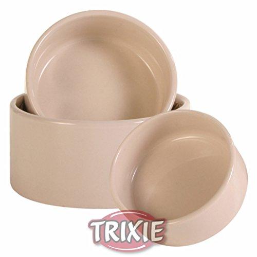 3er Satz Kleintiernäpfe aus Keramik, 75 ml/ø 7 cm, 140 ml/ø 9 cm, 330 ml/ø 11cm