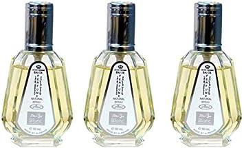 Set de 3 Almizcle Musk BLANC Al Rehab 50ml Perfumes de Mujer