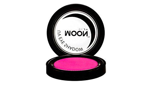 Moon Glow - Blacklight Neon Eye Shadow 0.12oz Pink - Glows brightly under Blacklights / UV Lighting!