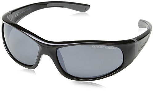 Alpina Kinder Sonnenbrille FLEXXY JUNIOR, black-grey, A8467331