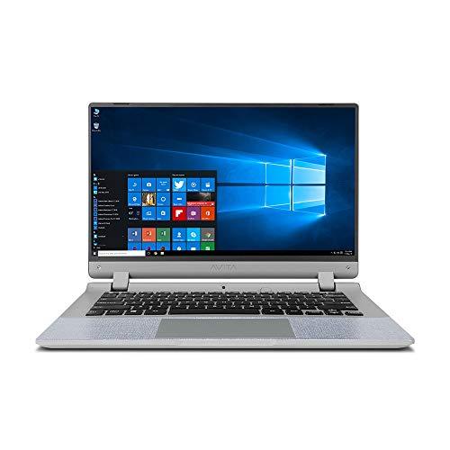 AVITA Essential NE14A2INC433-CR 14-inch Laptop (Celeron N4000/4GB/128GB SSD/Window 10 Home in S Mode/Integrated Graphics), Concrete Grey