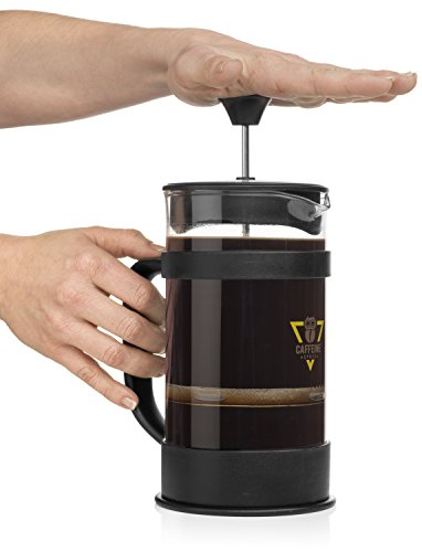 French Press Coffee Maker Kit : Caffeine Spree IncrediBrew French Press Coffee, Tea & Espresso Maker Kit With: Stainless Steel ...
