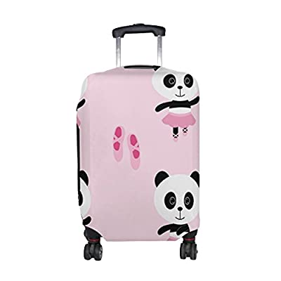 LAVOVO Butterflies Luggage Cover Suitcase Protector Carry On Covers