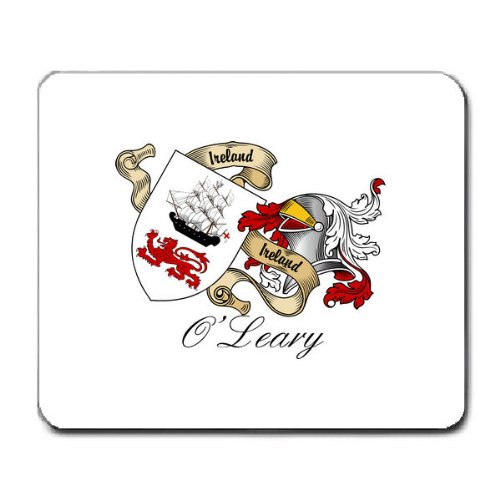 (OLeary Family Crest Coat of Arms Mouse Pad)